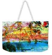Rustic Landscape Abstract  D2131716 Weekender Tote Bag
