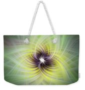 Floral Abstract Square Weekender Tote Bag
