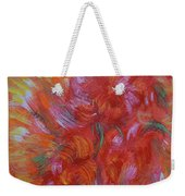 Floral Abstract, Sunshine Bouquet Weekender Tote Bag