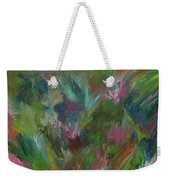 Floral Abstraction Weekender Tote Bag