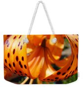 Floral Abstracts Art Prints Summer Tiger Lily Baslee Troutman  Weekender Tote Bag