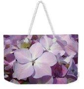 Floral Art Hydrangea Flowers Purple Lavender Baslee Troutman Weekender Tote Bag