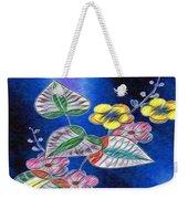 Floral Art Illustrated Weekender Tote Bag
