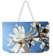 Floral Art Print Landscape Magnolia Tree Flowers White Baslee Troutman Weekender Tote Bag