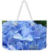 Floral Artwork Blue Hydrangea Flowers Baslee Troutman Weekender Tote Bag