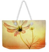 Floral At Dusk Weekender Tote Bag