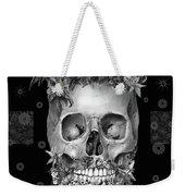 Floral Beard Skull 3 Weekender Tote Bag