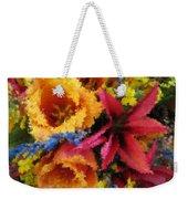 Floral Blast Weekender Tote Bag