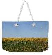 Floral Blur Weekender Tote Bag