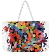 Floral Bouquet Abstract With Dots Weekender Tote Bag