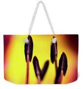 Floral Candle Weekender Tote Bag