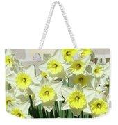 Floral Daffodils Garden Art Prints Floral Bouquet Baslee Troutman Weekender Tote Bag