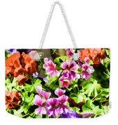 Floral Design 5 Light Weekender Tote Bag
