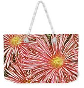 Floral Design No 1 Weekender Tote Bag