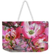 Floral Dogwood Tree Flowers Baslee Troutman Weekender Tote Bag