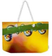 Floral Drop Trio  8054 Weekender Tote Bag