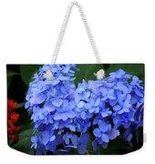 Floral Duet Weekender Tote Bag