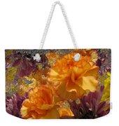 Floral Explosion Weekender Tote Bag