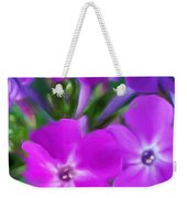 Floral Expression 2 021911 Weekender Tote Bag by David Lane
