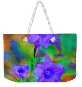 Floral Expression Weekender Tote Bag