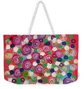 Floral Field  Weekender Tote Bag