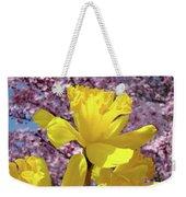 Floral Fine Art Daffodils Art Prints Spring Flowers Sunlit Baslee Troutman Weekender Tote Bag