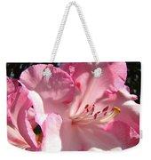 Floral Fine Art Prints Pink Rhodie Flower Baslee Troutman Weekender Tote Bag