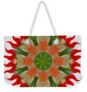 Floral Flare Weekender Tote Bag