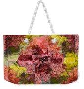 Floral Flux Weekender Tote Bag
