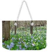 Floral Forest Floor Weekender Tote Bag