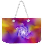 Floral Fractal 052210 Weekender Tote Bag