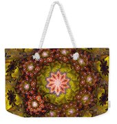 Floral Fractal Wreath  Weekender Tote Bag