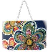 Floral Fun Weekender Tote Bag
