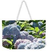Floral Garden Art Prints Blud Hydrangea Flowers Weekender Tote Bag