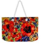 Floral Happiness Weekender Tote Bag