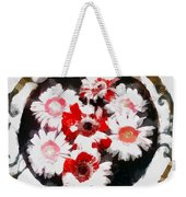 Floral Hotty Totty Weekender Tote Bag