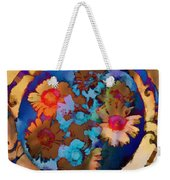 Floral Hotty Totty Differs Weekender Tote Bag