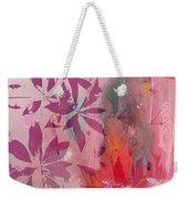Floral Illusion Weekender Tote Bag