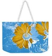 Floral Impression Weekender Tote Bag