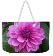 Floral In Pink Weekender Tote Bag