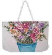 Floral Inked Weekender Tote Bag