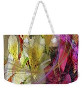 Floral Inspiration Weekender Tote Bag