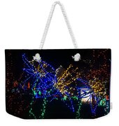 Floral Lights Weekender Tote Bag