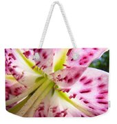 Floral Lily Flower Artwork Pink Calla Lilies Baslee Troutman Weekender Tote Bag