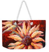 Floral Mini Weekender Tote Bag