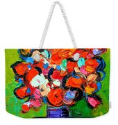 Floral Miniature - Abstract 0315 Weekender Tote Bag