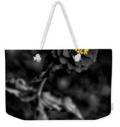 Floral October Zinnia End Of Season Sc 02 Vertical Weekender Tote Bag