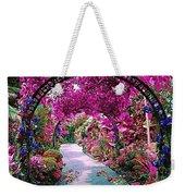 Floral Pathway Weekender Tote Bag