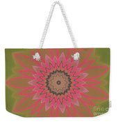 Floral Petals With Hearts Weekender Tote Bag