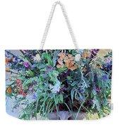 Floral  Piece Weekender Tote Bag